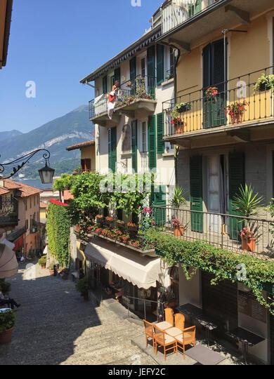 BELLAGIO on Lake Como, Piedmont, Italy. Photo : Tony Gale - Stock-Bilder