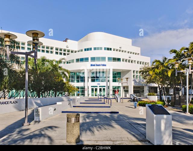 Police Station Miami South Beach