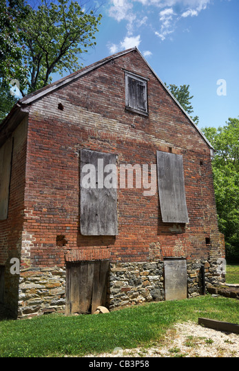 The country mill at Aldie, Virginia. - Stock Image