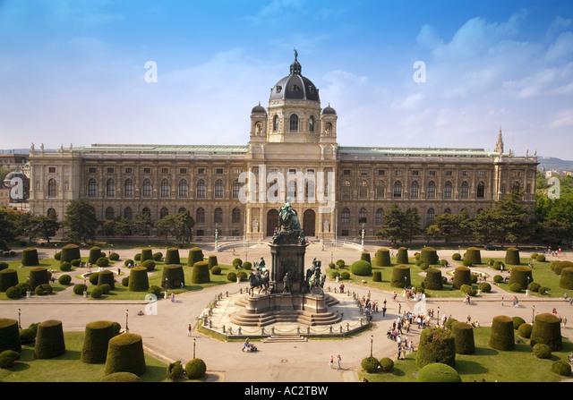 Vienna Natural History Museum - Stock Image