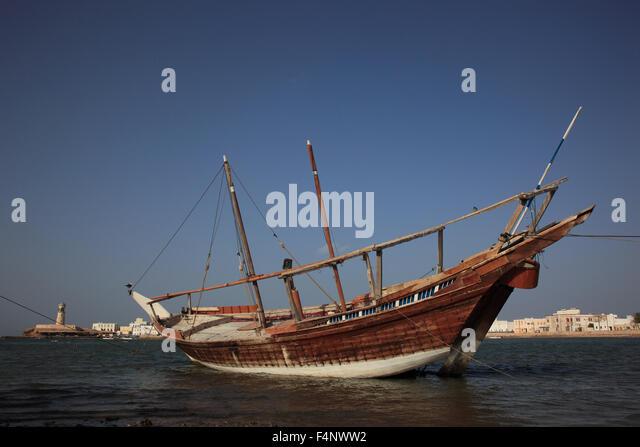 Al-Ayjah with Sur, Oman - Stock Image