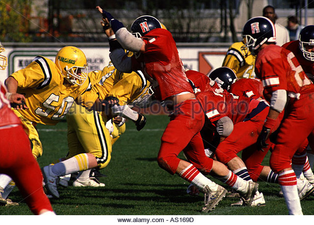 american football - Stock Image