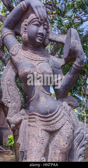 Sculpture tamil stock photos