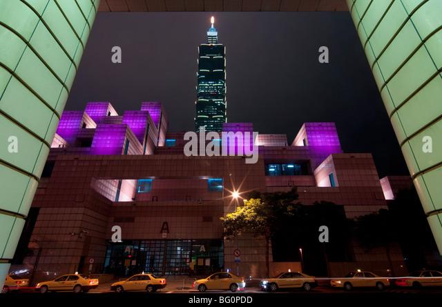 Taipei 101, Taipei, Taiwan, Asia - Stock Image