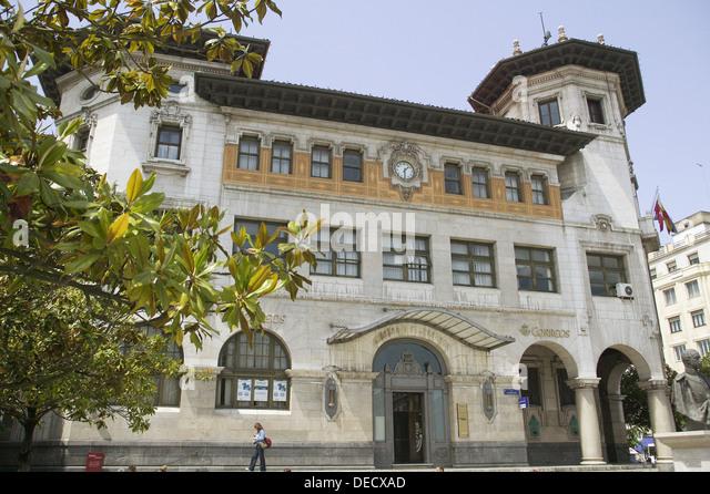 Alfonso de stock photos alfonso de stock images alamy for Edificio de correos madrid