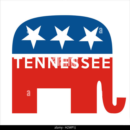 republicans Tennessee - Stock Image
