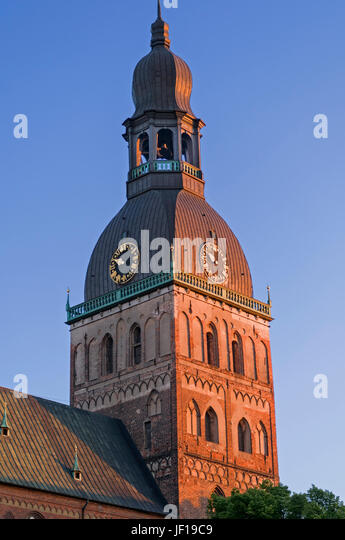 Dome Cathedral Riga Latvia - Stock Image