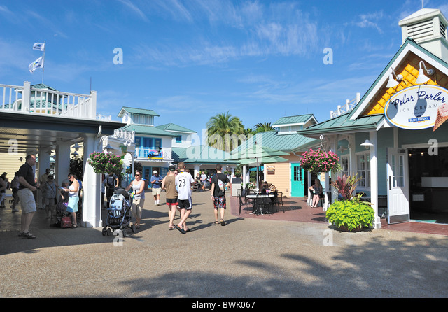 SeaWorld Orlando Florida - Stock Image