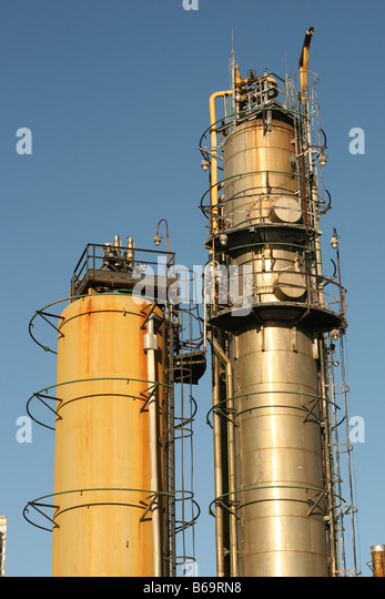 Oil Refinery - Stock Image
