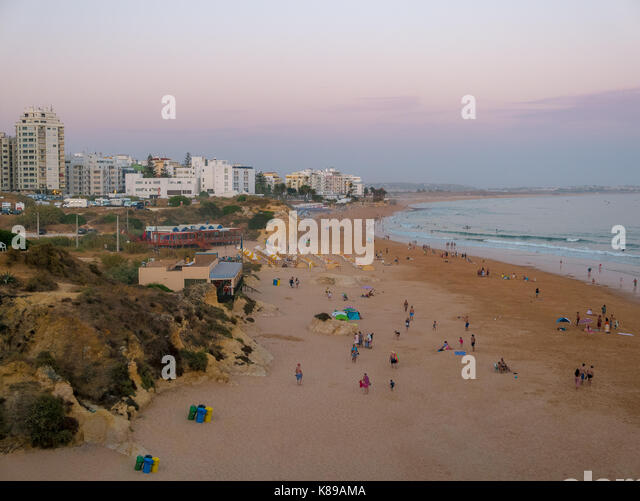 Algarve in Portugal - Armacao de Pera - Stock Image