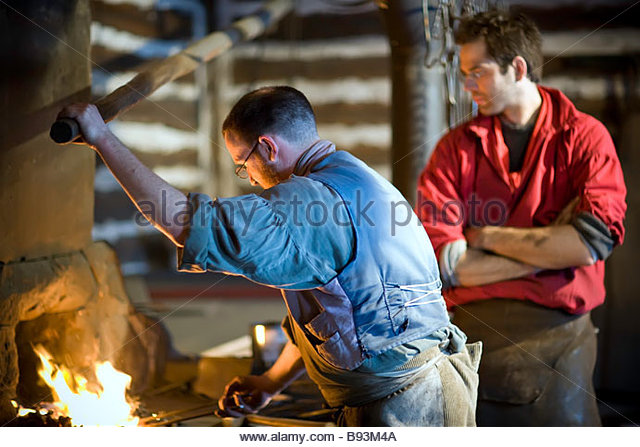 how to become a blacksmith in canada