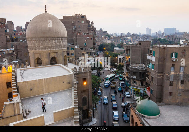 Old Cairo overview. Cairo, Egypt - Stock Image