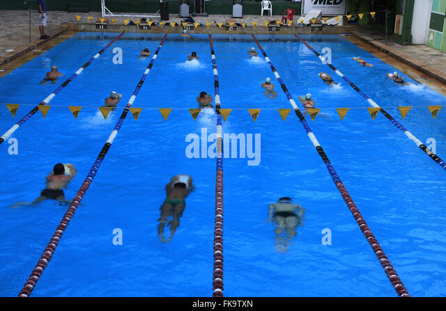 Swimming Lane From Above Stock Photos Swimming Lane From Above Stock Images Alamy