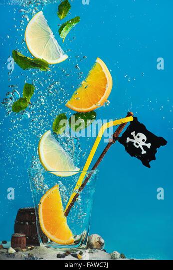 Pirate Lemonade - Stock Image