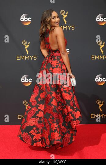 Los Angeles, CA, USA. 18th Sep, 2016. Alicia Quarles at arrivals for The 68th Annual Primetime Emmy Awards 2016 - Stock-Bilder