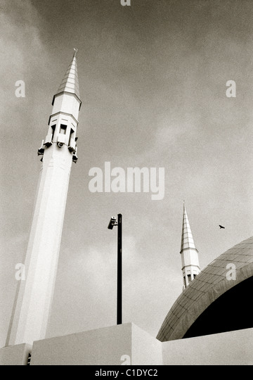 Modern architecture of Sakirin Mosque in Uskudar in Istanbul in Turkey in Middle East Asia. Building Islam Islamic - Stock Image