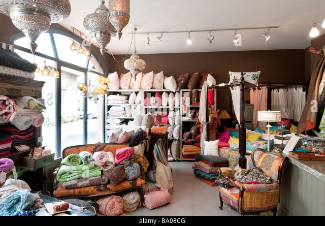Badim, a fashionable shop in Neve Tzedek district, Tel Aviv Israel - Stock Image