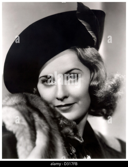 Barbara Stanwyck - Stock Image