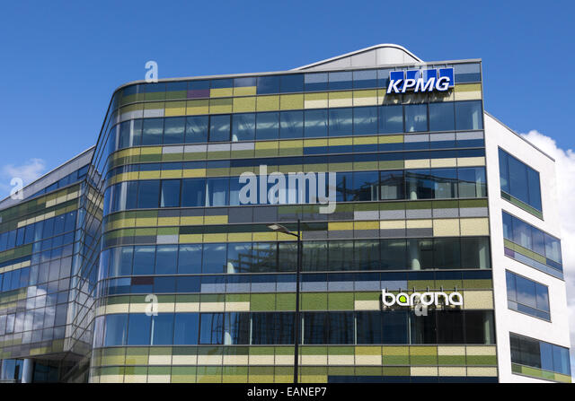 Kpmg office building stock photos kpmg office building for Ultra modern office building design