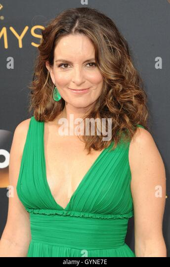 Los Angeles, CA, USA. 18th Sep, 2016. Tina Fey at arrivals for The 68th Annual Primetime Emmy Awards 2016 - Arrivals - Stock-Bilder