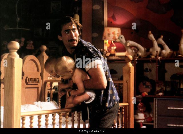 RAISING ARIZONA 1987 Circle Films/TCF film with  Nicholas Cage - Stock Image