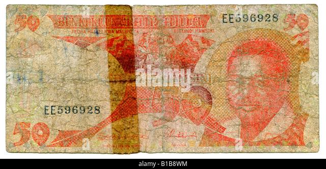 One Singapur-Dollar, close-up - Stock Image
