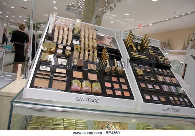 Luxury Cosmetics Display Mall Stock Photos Luxury Cosmetics Display Mall Stock Images Alamy