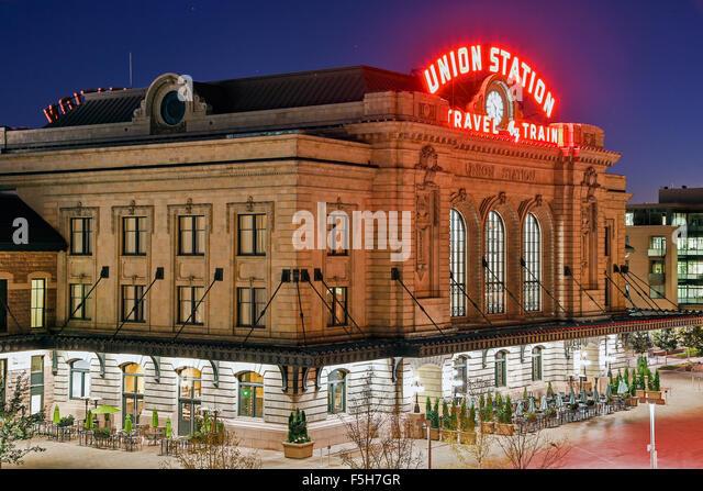 Union Station, Denver, Colorado USA - Stock-Bilder