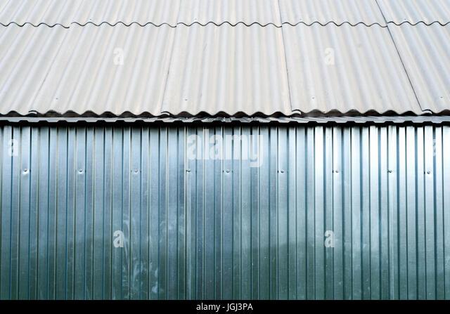 Corrugated Galvanized Steel Stock Photos Amp Corrugated