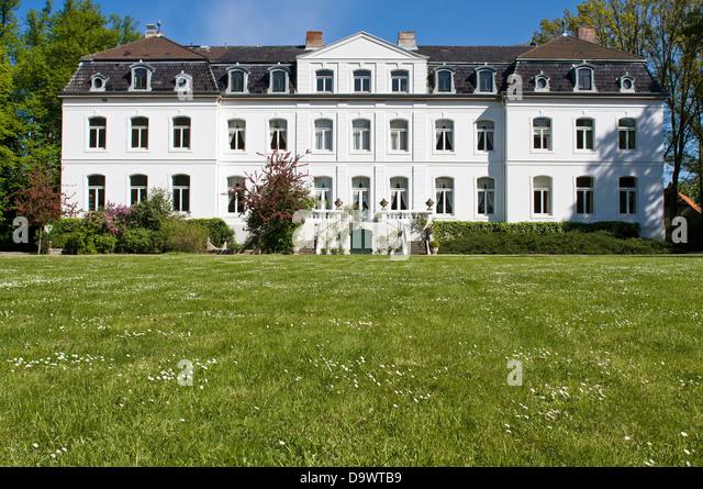 Europe, Germany,Schleswig Holstein, Wangels, Gut Weißenhaus - Stock Image