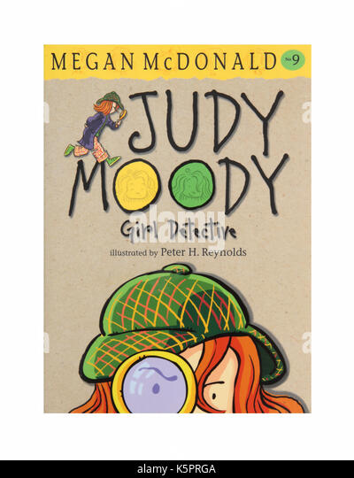 The book Judy Moody Girl Detective by Megan McDonald - Stock Image