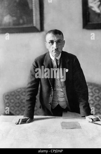 Baron Wilhelm von Gayl, 1920 - Stock Image