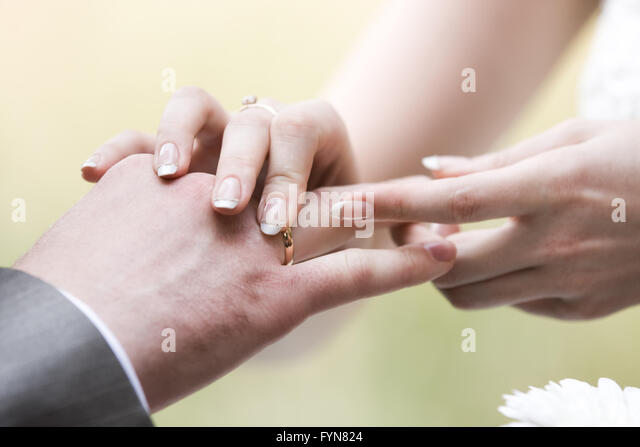 touch of feelings - Stock Image