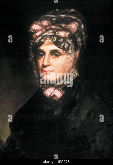 Anna Harrison, First Lady - Stock Image