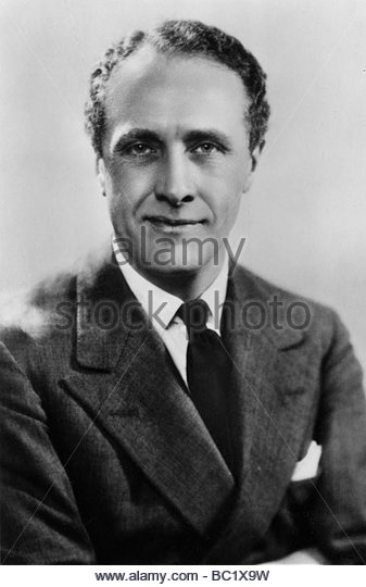 Owen Nares (1888-1943), English actor, 20th century. - Stock Image