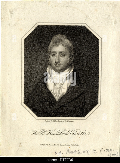 George Annesley (1769-1844) - Stock Image