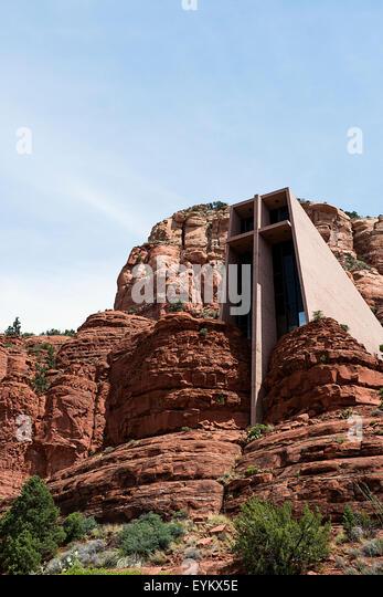 Sedona arizona chapel stock photos sedona arizona chapel for Sedona architects