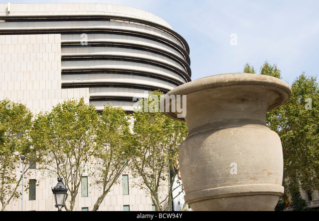 Corte ingles department store stock photos corte ingles - El corte ingles plaza cataluna barcelona ...