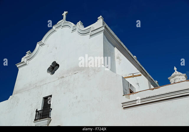 San Jose Church, Old San Juan, Puerto Rico - Stock Image