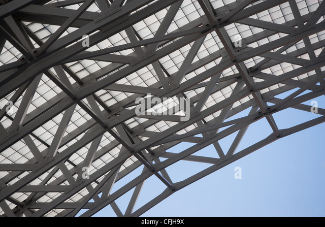 Detail of roof - Stock Image