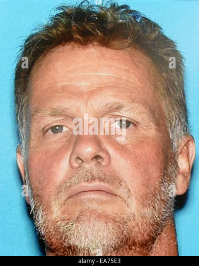 San Bernardino, California, U.S. 7th Nov, 2014. A handout photo of CHARLES 'CHASE' MERRITT, arrested for - Stock Image