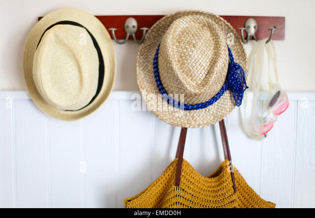 Vacation essentials - Stock Image