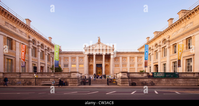 Ashmolean Museum of Art and Archaeology, Oxford - Stock Image