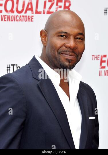 Rome photocall for the 'The Equalizer' at Hotel De Russie  Featuring: Antoine Fuqua Where: Rome, Italy When: - Stock-Bilder