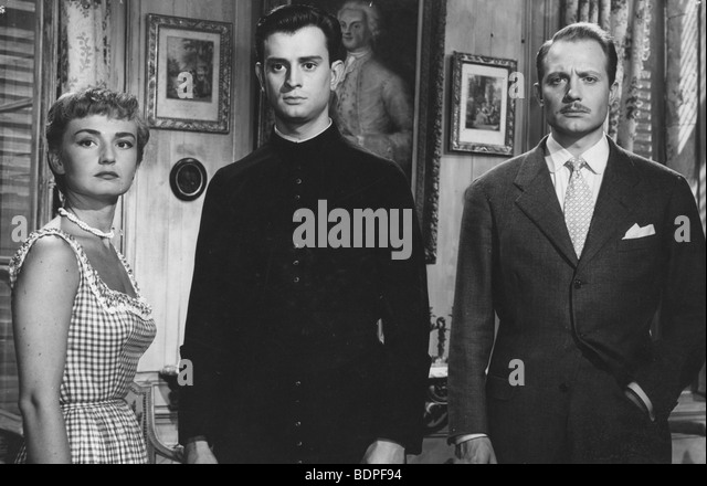 Les aristocrates Year: 1955 Director: Denys de La Patellière Brigitte Auber, Georges Descrières, Jacques - Stock Image