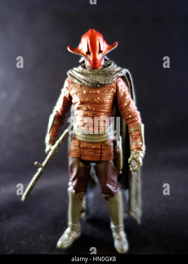 The Force Awakens Star Wars Action figure - Stock Image