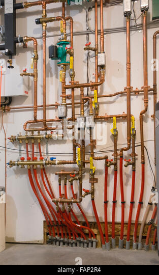 Energy efficient home heating stock photos energy for Most efficient home heating system