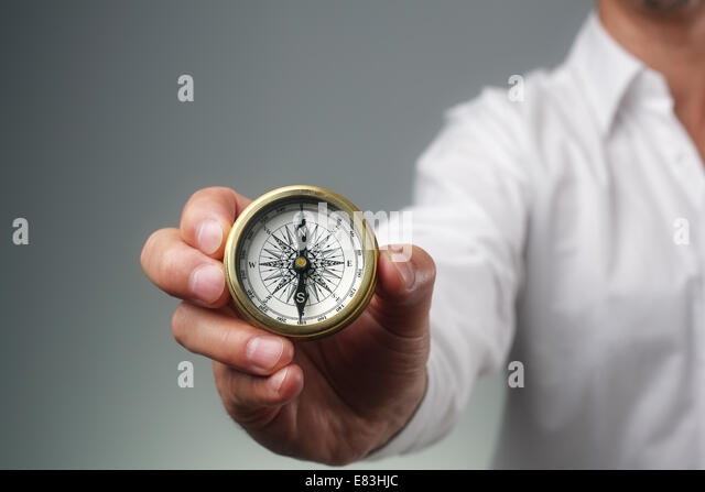 Business direction - Stock Image