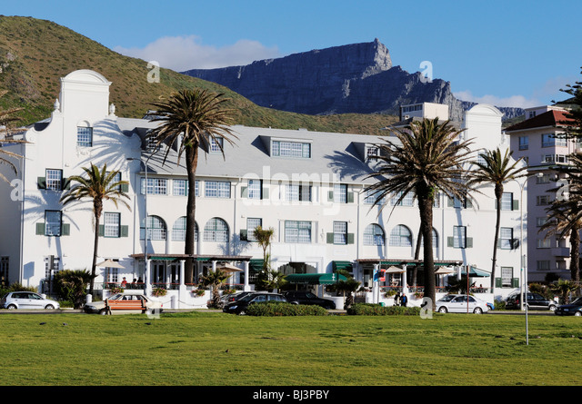 Hotel Winchester Mansions, Sea Point, Cape Town, Western Cape, South Africa, Africa - Stock Image