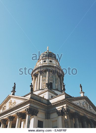 Germany, Berlin, Low angle view of Konzerthaus - Stock Image